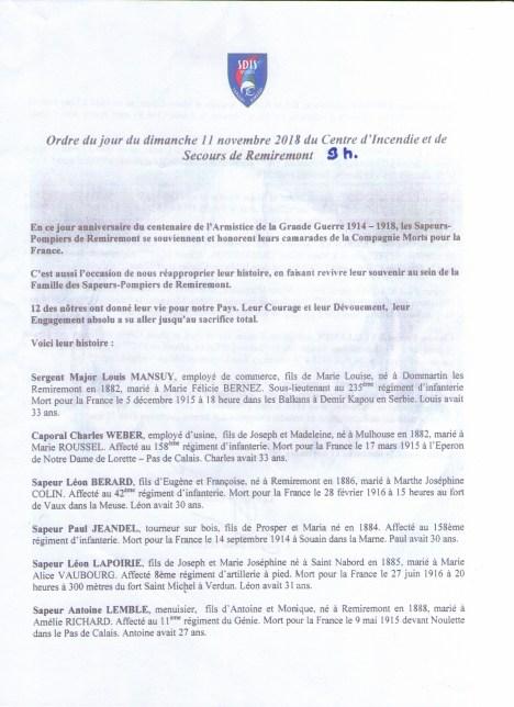 02 Liste 1 des Pompiers Morts pour la France