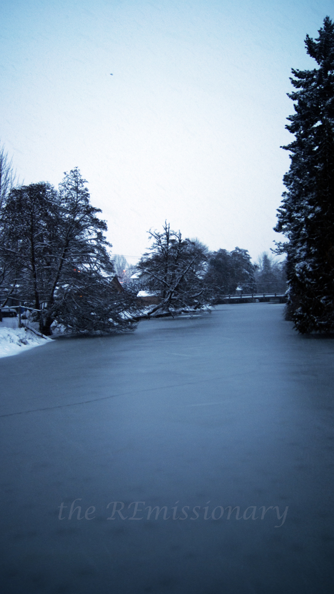 Mill Creek - iced over