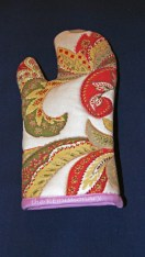 first oven mitt - side one