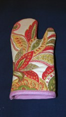 first oven mitt - side two