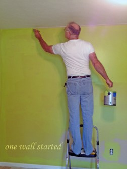color for 3 walls