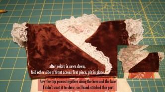 final stitching