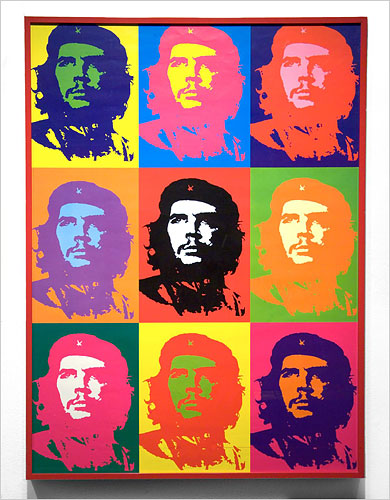 The Warhol Che -- though not created by Warhol, nevertheless authenticated