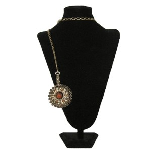 girdle mirror pendant necklace-the remix vintage fashion
