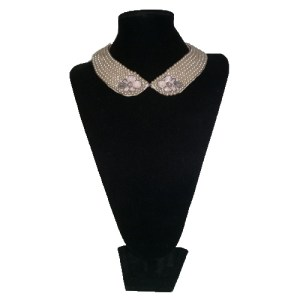 pearl collar necklace-the remix vintage fashion