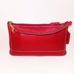 Coach Red Purse Clutch-the remix vintage fashion