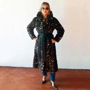 chevron mink fur coat wrap i himmel & sons-the remix vintage fashion