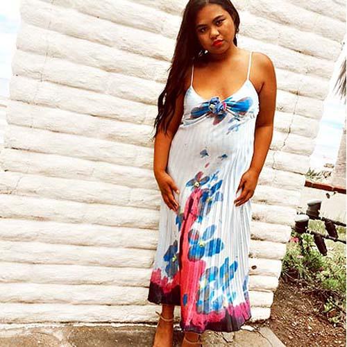 swing dress accordion dress-the remix vintage fashion