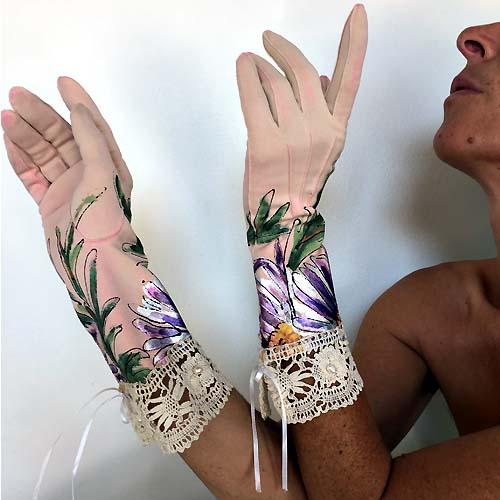 vintage ladies day gloves-the remix vintage fashion