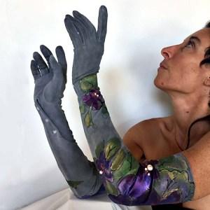 long formal evening gloves-the remix vintage fashion