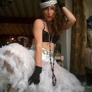 crinoline 80s glam-the remix vintage fashion