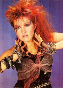 80s fashion cyndi lauper-the remix vintage fashion