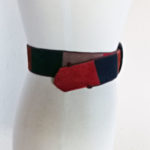 patchwork suede belt 70s leather street style-the remix vintage fashion