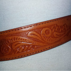 mexican tooled leather-the remix vintage fashion