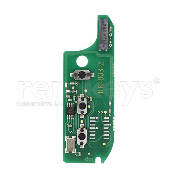 RB003-2 - Fiat 433mhz M.Marelli Repairment Board - OEM Design