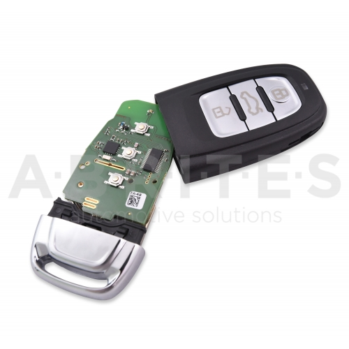 TA48 - ABRITES keyless key for Audi BCM2 vehicles (868 MHz)