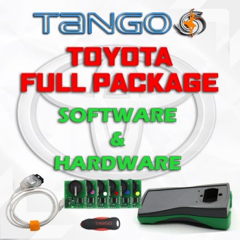 Tango Toyota Package - Tango + Toyota Makers + Emulators + Cables + FREE SHIPMENT
