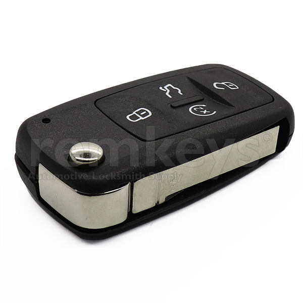 VAG UDS 4 Button Flip Remote Case