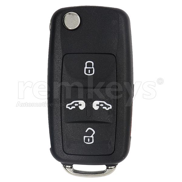VAG Crafter 4+1 Button Flip Remote Case