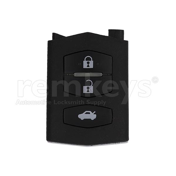 Mazda 3/5/6 3Btn Remote Head OEM - SKE126-01