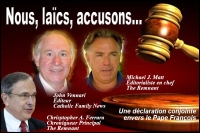 Résultats de recherche d'images pour «Catholic Family News we accuse Francis»