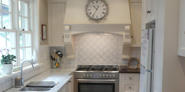 Classically Beautiful Galley Kitchen