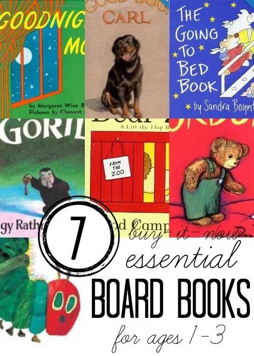 7 Essential Children's Books for Ages 1-3, via Tipsaholic
