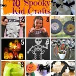 10 spooky kids crafts for Halloween via Tipsaholic.com