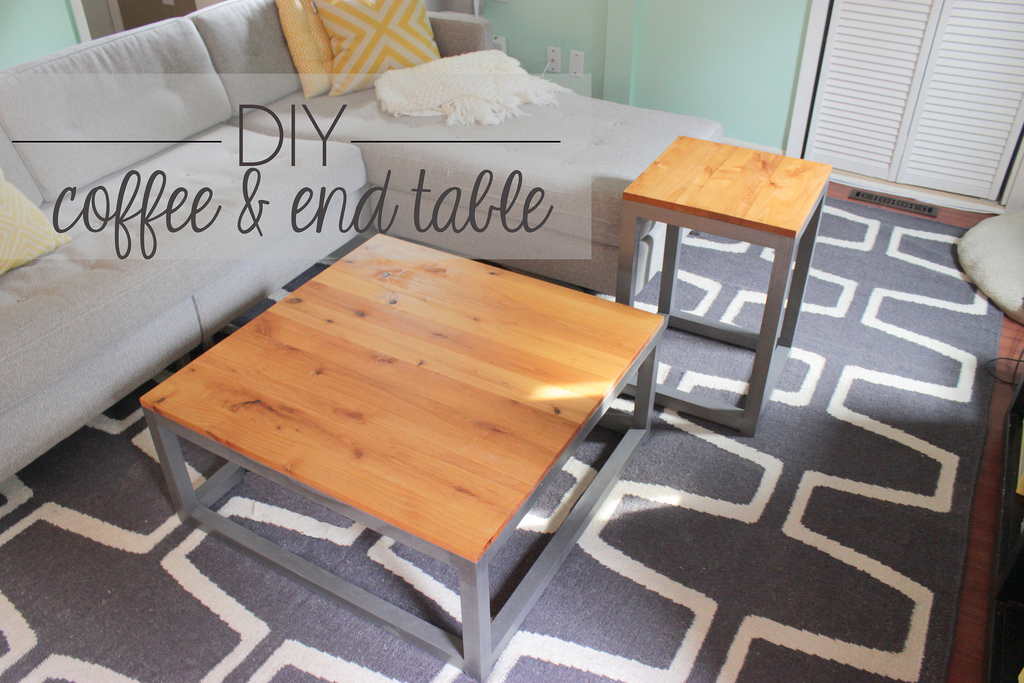 Build A Modern Coffee Table And Matching