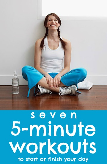 5-Minute Workouts for All Your Problem Areas via Tipsaholic