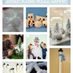 8 Indoor Winter Crafts your Kids will love at tipsaholic.come