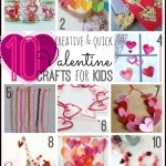 10 Valentine Crafts for Kids - Tipsaholic.com