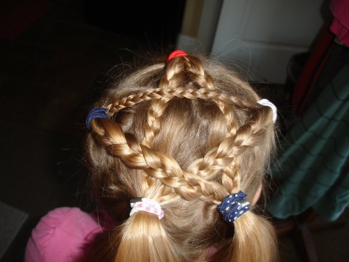 july 4th hairstyle patriotic bbq ideas