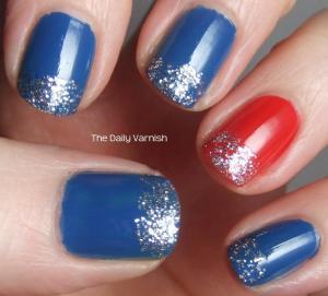 patriotic manicure july 4th bbq ideas