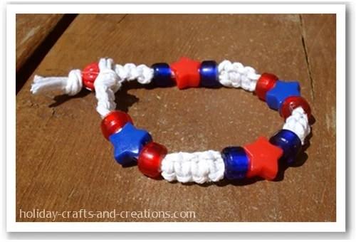 patritotic bracelet