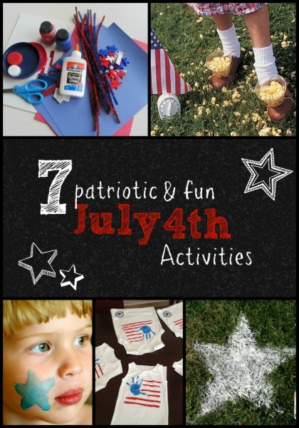 7 Patriotic and Fun July 4th Activities | Tipsaholic.com #holiday #fun #july #summer #independence #crafts #games #activities
