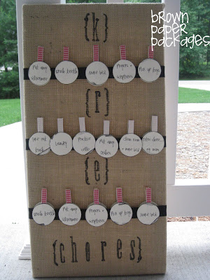burlap chore chart--finished project front copy