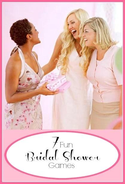 7 Fun Bridal Shower Games | Tipsaholic.com #wedding #shower #bridal #entertaining #games #activities