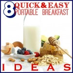 8 Quick and Easy Portable Breakfast Ideas - Tipsaholic, #breakfast, #recipe, #easymeal