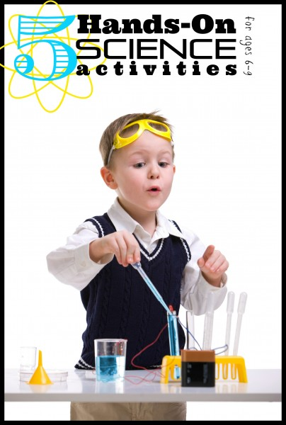 Keep the kids busy at home with science activities. Supplement their education and have fun. 5 Hands-On Science Activities for 6-9 Year Olds - Tipsaholic, #science, #scienceexperiment, #experiments, #kids