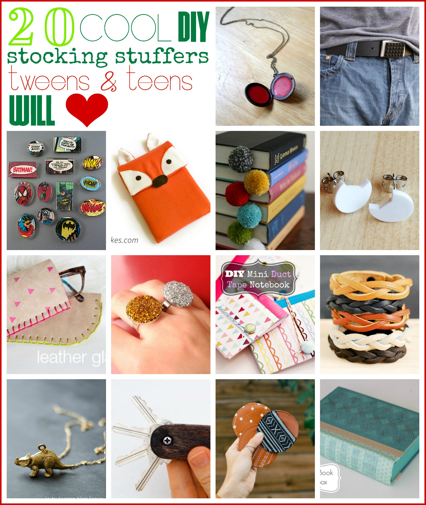 Find The Perfect Stocking Stuffers For Teens And Tweens Without