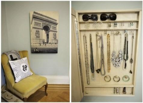 hidden jewelry organizer