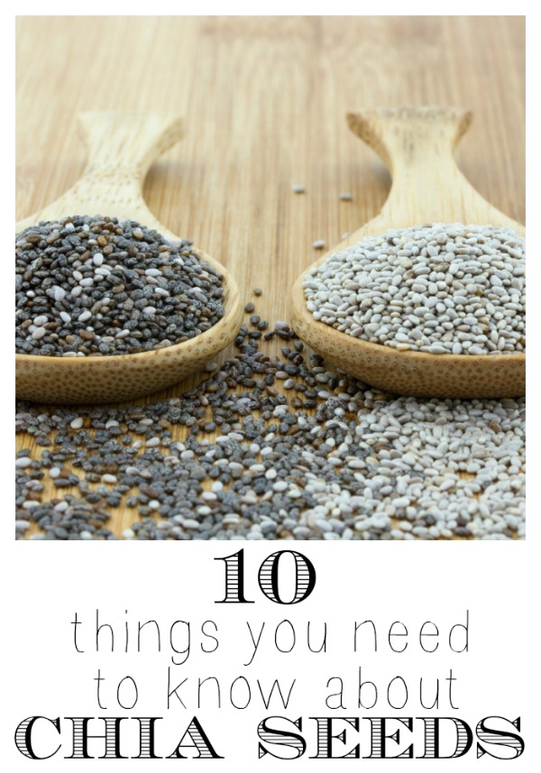 10 Things you need to know about Chia Seeds at tipasholic.com