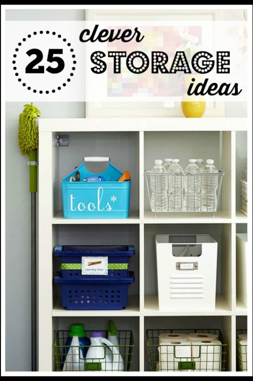 25 Clever Storage Ideas - Tipsaholic