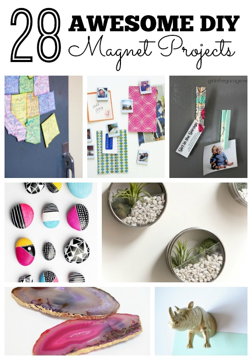 Remodelaholic 28 Awesome Diy Magnet Projects