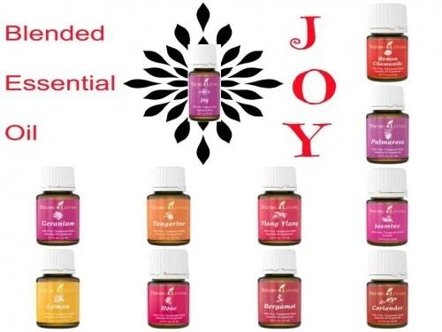 Joy blended essential oil, a blend the uses of Bergamot, Ylang Ylang, Geranium, Coriander, Lemon, Tangerine, Jasmine, Roman Chamomile, Palmarosa, and Rose. Learn all the uses of Joy Essential Oil via tipsaholic.com #joy #blendedoils #youngliving #younglivingoils #essentialoils