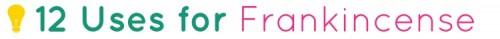 frankincense header