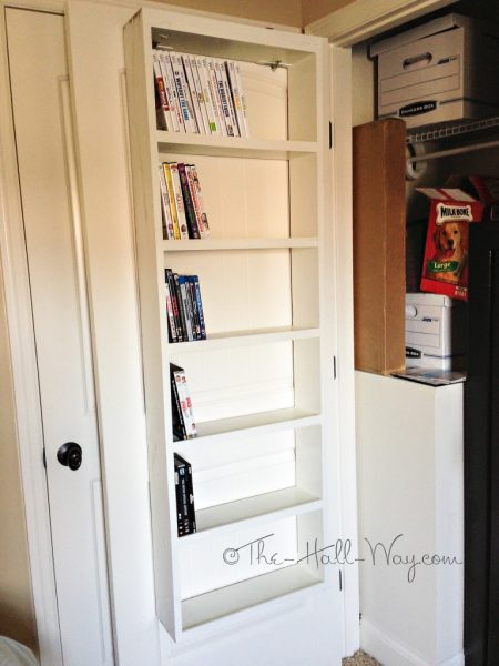 Are you looking for a way to store your DVDs that is organized efficient & Remodelaholic | Have Too Many DVDs? Try These 7 DVD Storage Ideas!