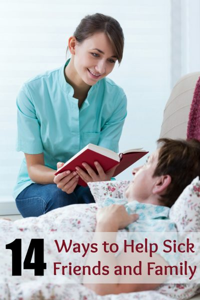 "Don't just say ""call if you need anything."" Use these ideas to help sick friends and family and make a real difference during their time of need. 14 Ways to Help Sick Friends and Family ~ Tipsaholic.com #help #sick #illness"