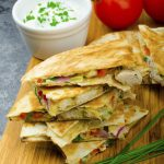 Chicken quesadilla